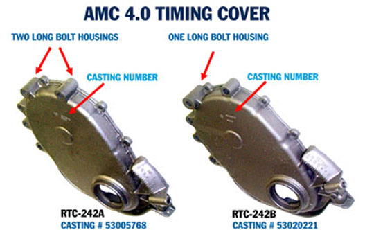 TIMING COVERS (NEW AND RECONDITIONED)